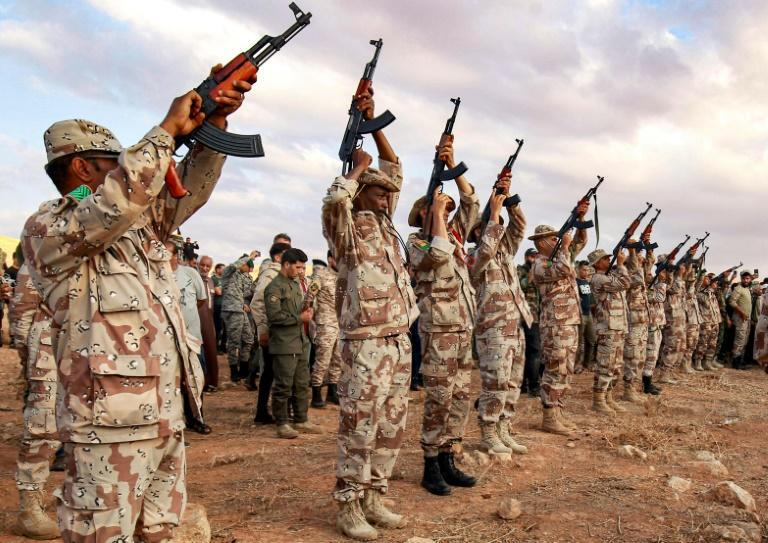 Haftar's forces in 2019 launched a year-long campaign to seize Tripoli before they were pushed back eastwards last summer