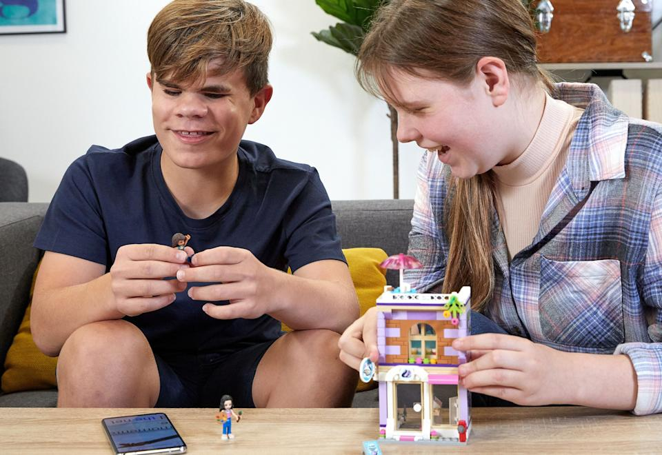 The LEGO Group provides free audio and Braille for four LEGO sets.