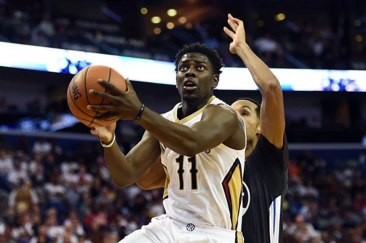 Jrue Holiday has played three seasons with the Pelicans. (Getty Images)