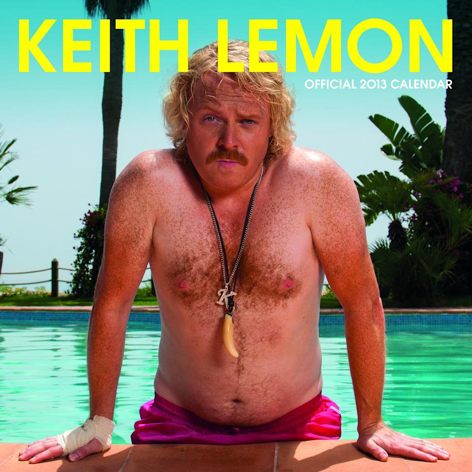 Biggest selling celebrity calendars for 2013: Number 8, Keith Lemon