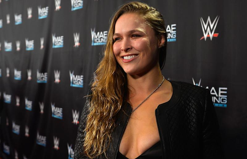 UFC Star Ronda Rousey Finally Joins WWE Full