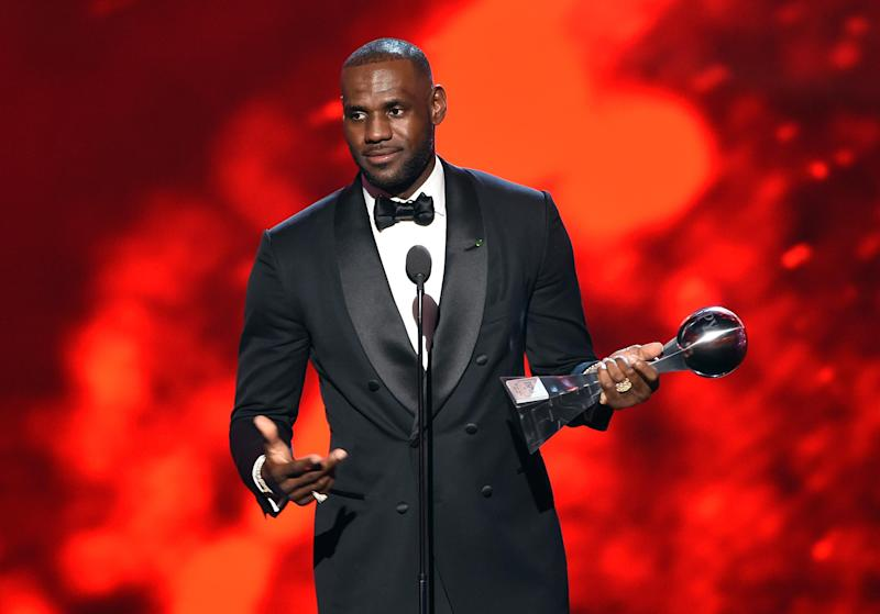 5e69c5701ca4 LeBron James Leads Call to End Gun Violence at the ESPY Awards