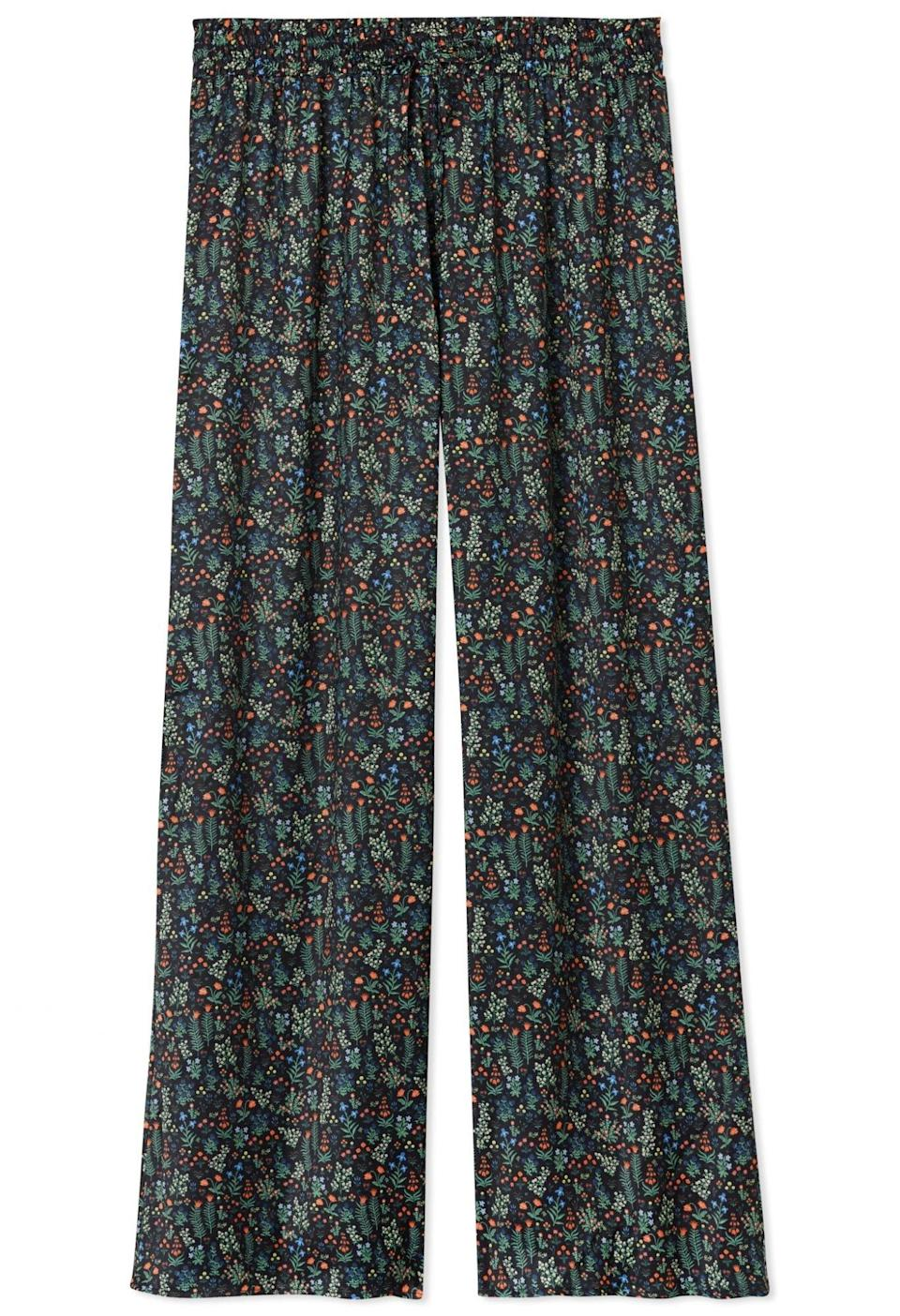 The Perfect Palazzo Pant in Menagerie