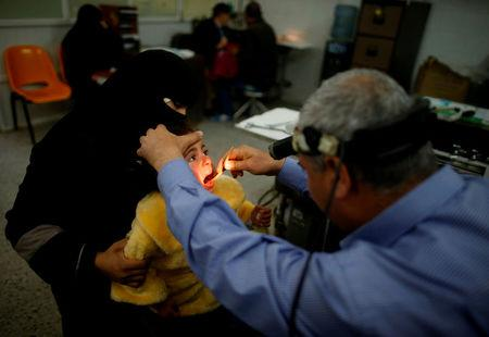 The Wider Image: Gaza's ailing healthcare system