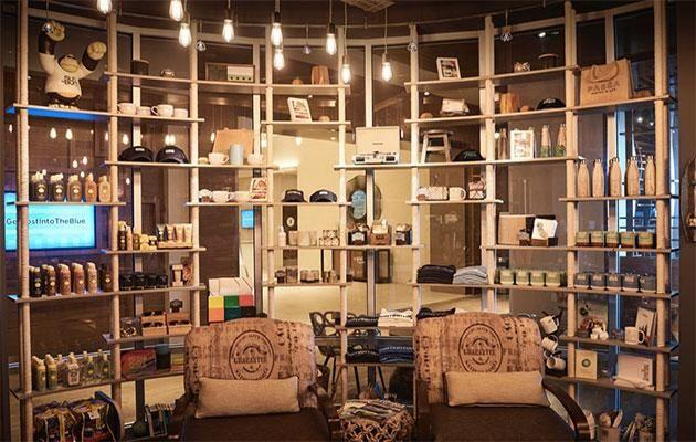 Pasea's quirky general store. Photo: Paséa Hotel & Spa