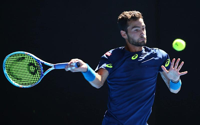 Noah Rubin is ranked just inside the world's top 200 - Getty Images AsiaPac