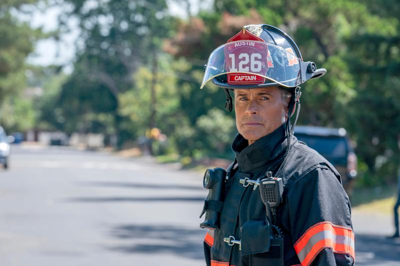 Rob Lowe plays Owen Strand, a New York firefighter who moves to Austin, Texas, to rebuild a fire company after a tragedy, in the Fox '9-1-1' spionff, '9-1-1: Lone Star.'