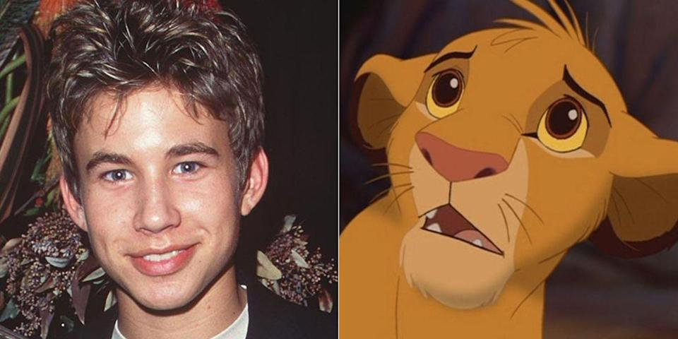 <p>In the middle of his<em> Home Improvement</em> heyday, JTT provided the voice of young Simba in the 1994 classic. Three other people also played Simba in the movie: Jason Weaver as young Simba's singing voice, Matthew Broderick as adult Simba, and Joseph Williams as adult Simba's singing voice. Kind of amazing, right?</p>