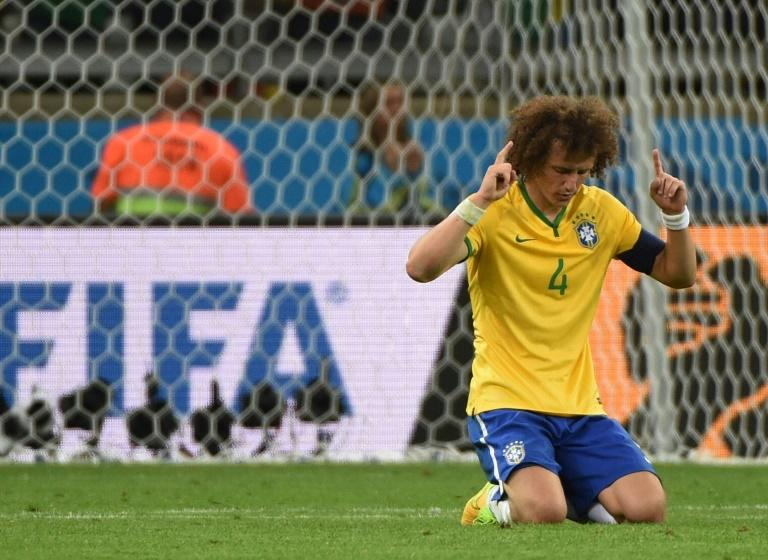 Brazil defender David Luiz was distraught after Germany hammered the host nation 7-1 in the semi-finals of the 2014 World Cup