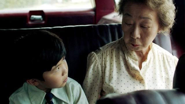 Yuh-Jung Youn and Alan S Kim in a still from Minari