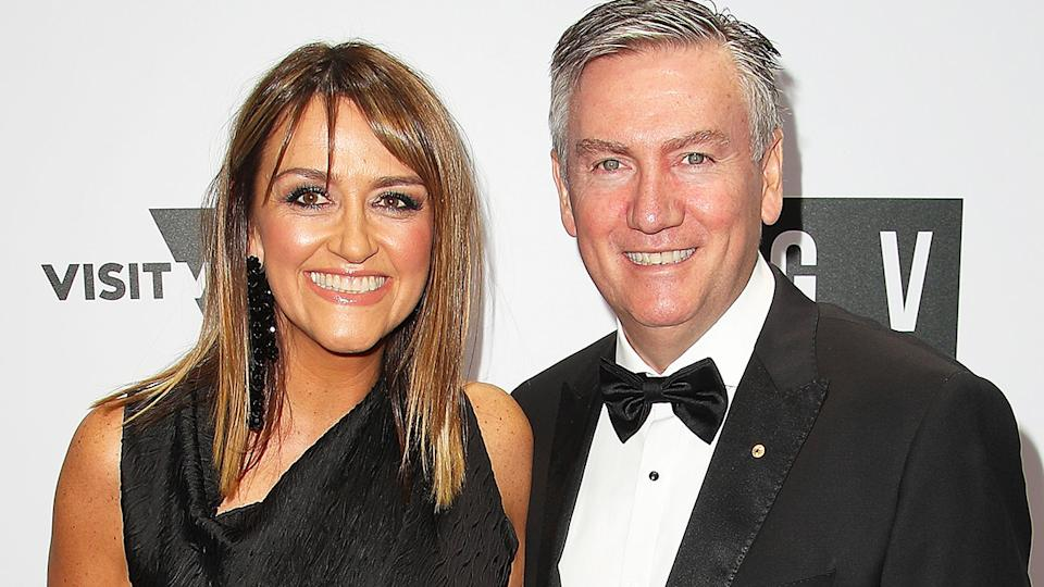 Eddie McGuire, pictured here with wife Carla at the NGV Gala in 2017.