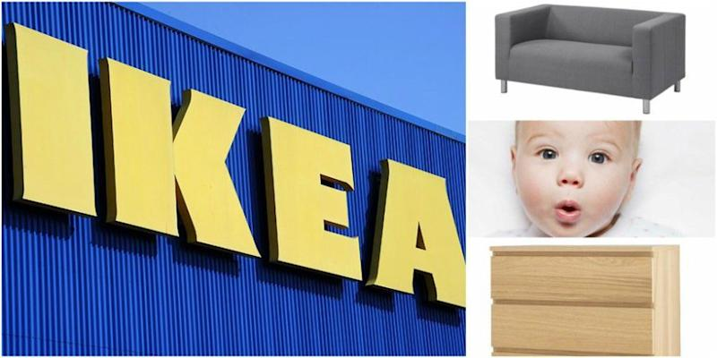 Could Ikea Baby Names Be The Hot New Trend For Parents In 2018