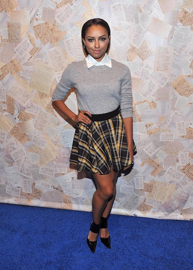 <p>With her nose ring and slicked-back tresses, Graham was more <em>The Craft</em> than <em>High School Musical</em> at New York Fashion Week. Then again, the <em>Vampire Diaries</em> actress was probably too cool for school, period. (Photo: Henry S. Dziekan III/WireImage) </p>
