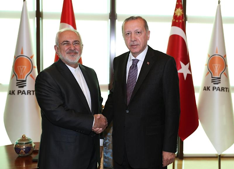 Iran foreign minister in surprise Erdogan talks, says Turkish presidency