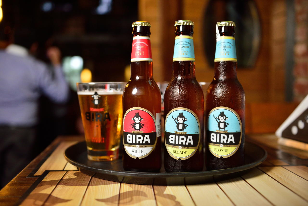Bira 91 is a craft beer brand manufactured by B9 Beverages Pvt. Ltd in India. It was launched in 2015 and founded by Ankur Jain. The company's first brewery unit was located in Flanders region of Belgium where a craft distillery was used to contract-manufacture the beer with ingredients from France, Belgium, Himalayas and Bavarian Farms and the beer was imported to India. After initial success, the company thereafter began manufacturing the beer in Gondia, Maharashtra with the same ingredients.