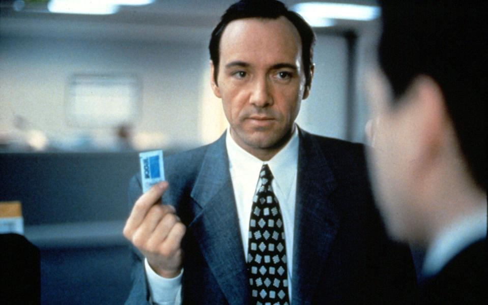 Rudin is said to have inspired the sadistic mogul portrayed by Kevin Spacey in 1994's Swimming With Sharks - Photo 12 / Alamy Stock Photo