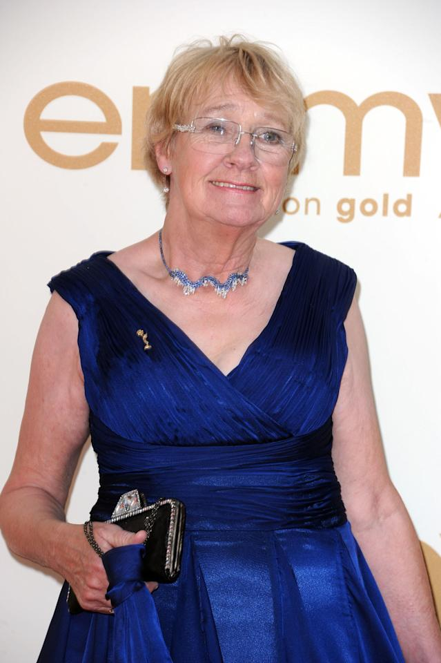 LOS ANGELES, CA - SEPTEMBER 18:  Actress Kathryn Joosten arrives at the 63rd Annual Primetime Emmy Awards held at Nokia Theatre L.A. LIVE on September 18, 2011 in Los Angeles, California. Joosten has died of lung cancer at age 72 on Saturday June 2, 2012. (Photo by Kevin Winter/Getty Images)