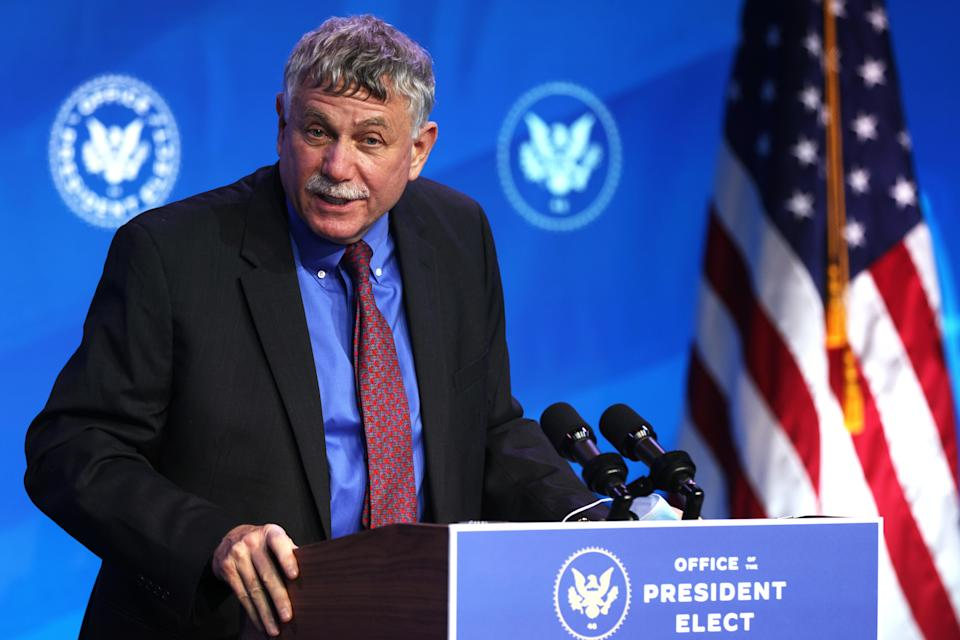 Director of the Office of Science and Technology Policy (OSTP) nominee and presidential science adviser designate Eric Lander (Getty Images)