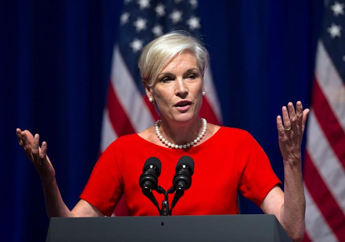 Cecile Richards, president, Planned Parenthood, addresses an Organizing for Action summit in Washington, Monday, July 22, 2013. (Photo: Cliff Owen/AP)