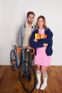 """<p>We knew from the first season of <em>Stranger Things</em> that Mike and Eleven were destined to be together. Capture their cute relationship by dressing up as the psychic girl in pink and her sidekick, outfitted in stripes with his trusty bike. </p><p><strong>Get the tutorial at <a href=""""https://abeautifulmess.com/2016/10/stranger-things-costume-gift-guide.html"""" rel=""""nofollow noopener"""" target=""""_blank"""" data-ylk=""""slk:A Beautiful Mess"""" class=""""link rapid-noclick-resp"""">A Beautiful Mess</a>. </strong></p><p><a class=""""link rapid-noclick-resp"""" href=""""https://go.redirectingat.com?id=74968X1596630&url=https%3A%2F%2Fwww.walmart.com%2Fip%2FWomens-Comfy-Swing-Tunic-Short-Sleeve-Solid-T-Shirt-Dress%2F610575695&sref=https%3A%2F%2Fwww.countryliving.com%2Fdiy-crafts%2Fg29398849%2Fdiy-stranger-things-costumes%2F"""" rel=""""nofollow noopener"""" target=""""_blank"""" data-ylk=""""slk:SHOP PINK DRESSES"""">SHOP PINK DRESSES</a></p>"""