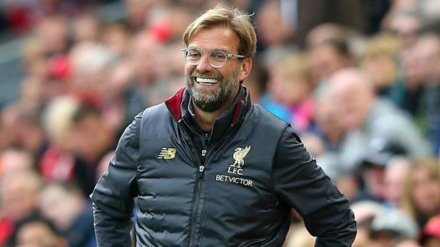With the Premier League title race heating up, Liverpool boss Jurgen Klopp could not contain his joy before their trip to face Arsenal.