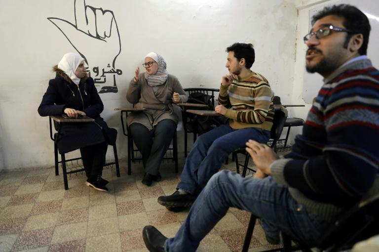Officially, there are some 20,000 deaf people in Syria, but NGO workers say the real number is five times that