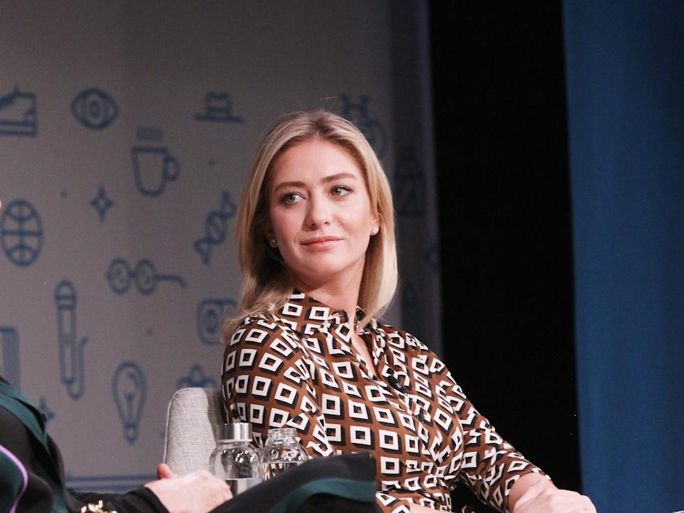 """Whitney Wolfe Herd. <p class=""""copyright"""">Photo by Bennett Raglin/Getty Images for Fast Company</p>"""