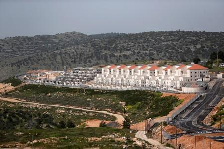 FILE PHOTO: A general view shows the Israeli settlement of Beitar Illit in the Israeli-occupied West Bank