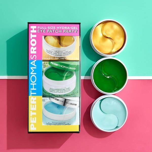 <p>Say goodbye to tired undereyes with this <span>Peter Thomas Roth Full-Size Hydra Gel Eye Patch Party</span> ($75).</p>