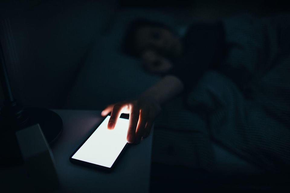 <p>Switch off all electronic devices, including your phone! The light emitted from tablets, laptops, and smartphones can keep you up at night, mess with levels of sleepytime hormone melatonin, and wake you up if they buzz in the middle of the night.</p>