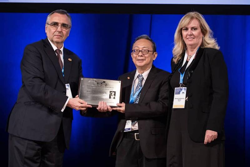 Prof Dr Ng Kwan Hoong is the first scientist from Malaysia to receive the Marie Sklodowska-Curie Award. — Picture courtesy of University of Malaya