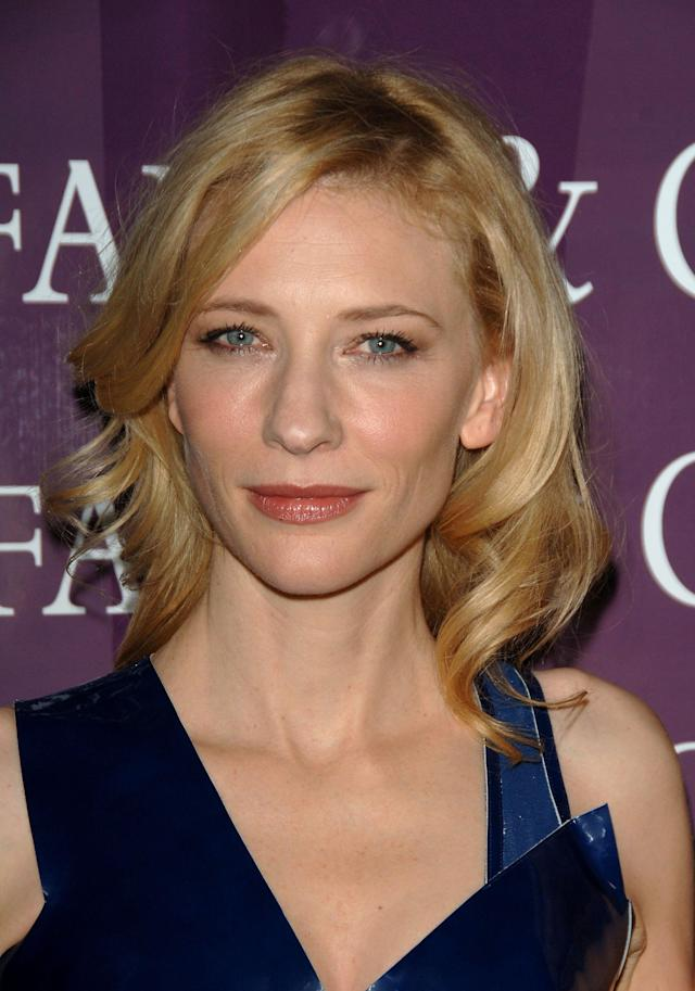 <p>Cate Blanchett at the 18th Annual Palm Springs International Film Festival 2007 Gala Awards Presentation on Jan. 6, 2007, in California. (Photo: Stephen Shugerman/Getty Images) </p>