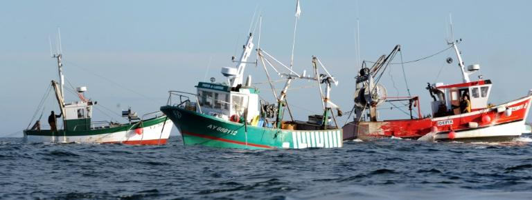 French fishermen clashed last year with their English counterparts in a dispute over access to scallop beds