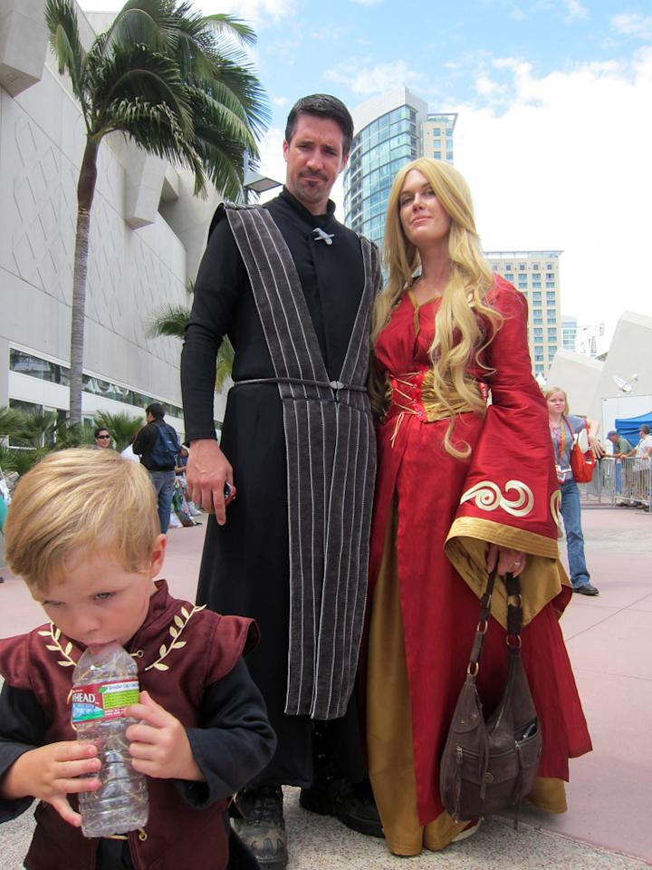 A family straight out of 'Game of Thrones' - San Diego Comic-Con 2012