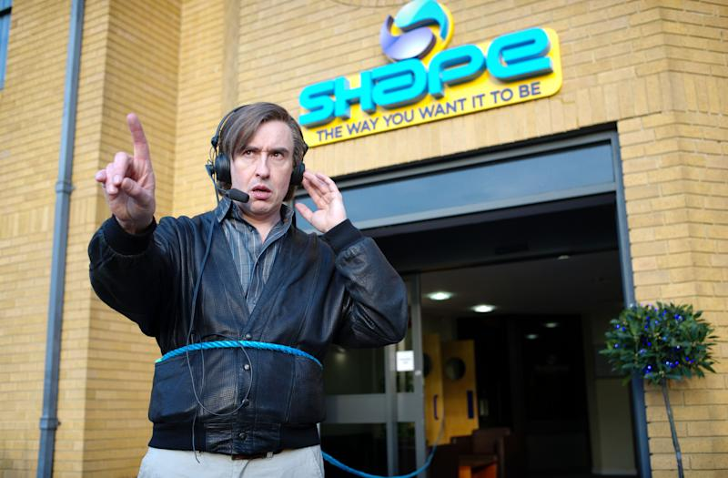 "This image released by Magnolia Pictures shows Steve Coogan in a scene from ""Alan Partridge."" (AP Photo/Magnolia Pictures)"