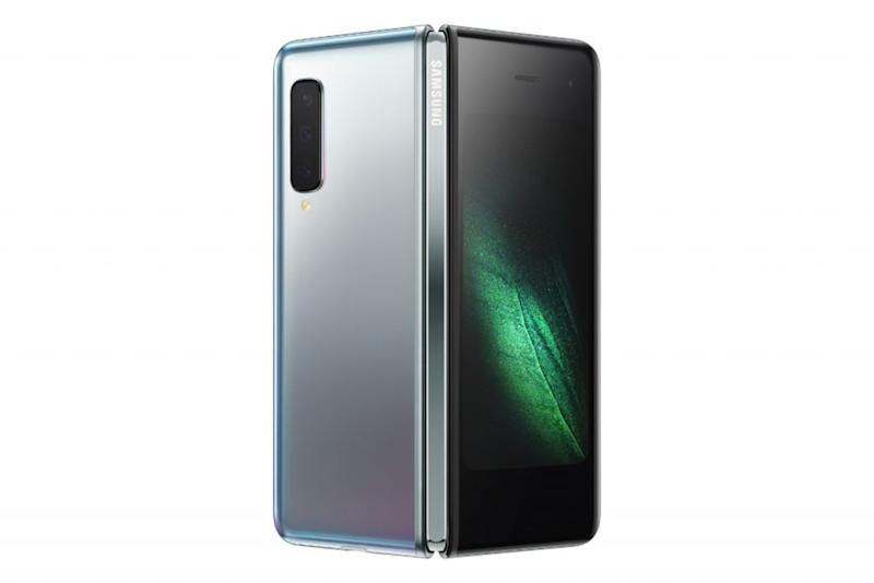 The Samsung Galaxy Fold - in Space Silver (Samsung)