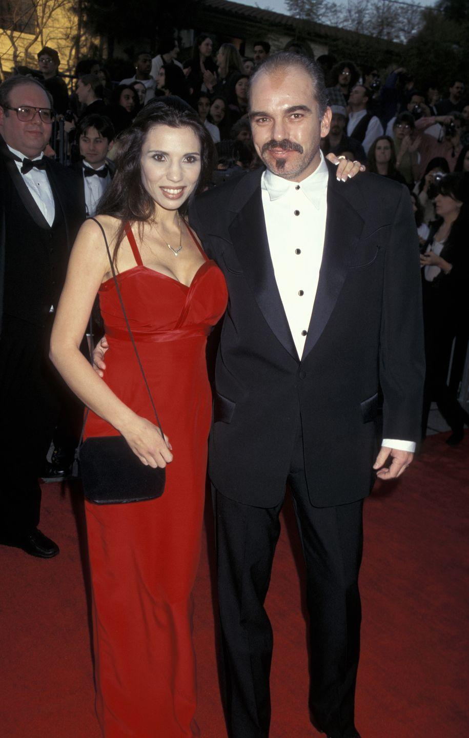 """<p>Actor Billy Bob Thornton has been married <a href=""""https://www.usmagazine.com/celebrity-news/pictures/celebrities-who-have-been-married-three-times-or-more-201495/38096-2/"""" rel=""""nofollow noopener"""" target=""""_blank"""" data-ylk=""""slk:six times"""" class=""""link rapid-noclick-resp"""">six times</a>. He married Melissa Lee Gatlin (1978 to 1980); actress Toni Lawrence (1986 to 1988), actress Cynda Williams (1990 to 1992), model Pietra Thornton (1993 to 1997); and famed actress <a href=""""https://www.womenshealthmag.com/fitness/a19939864/angelina-jolie-workout/"""" rel=""""nofollow noopener"""" target=""""_blank"""" data-ylk=""""slk:Angelina Jolie"""" class=""""link rapid-noclick-resp"""">Angelina Jolie</a> (2000 to 2003). Billy Bob married his sixth wife, actress Connie Angland, in 2014. </p>"""