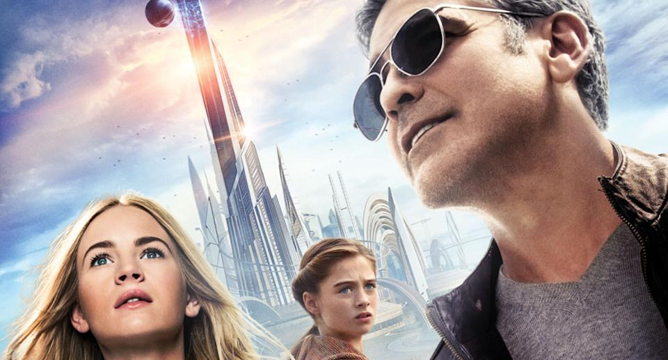 George Clooney stars in Tomorrowland. (Disney)