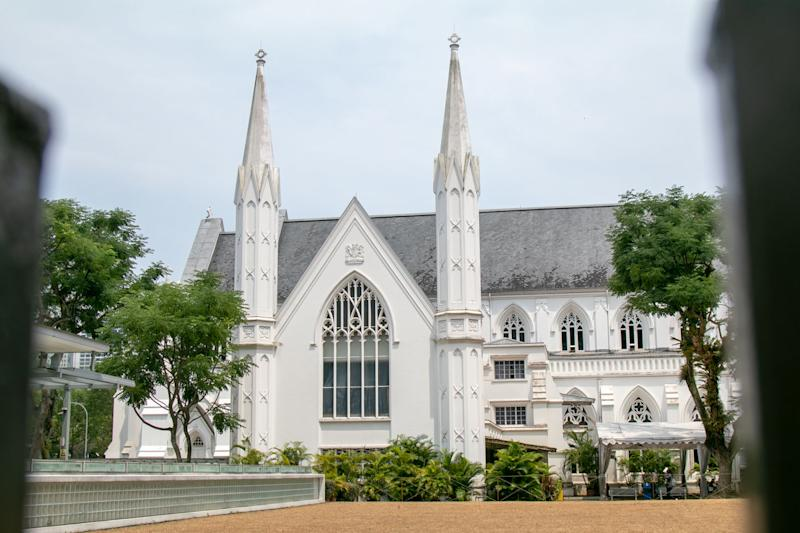 St Andrew's Cathedral (PHOTO: Dhany Osman / Yahoo News Singapore)
