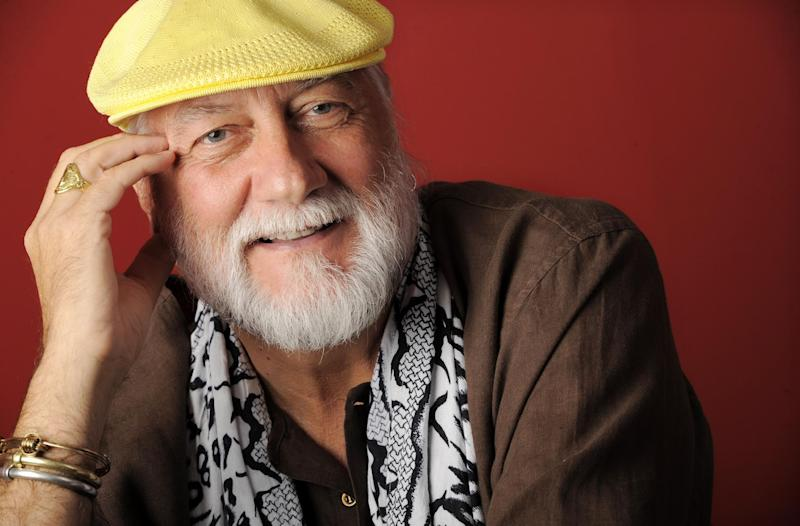 FILE - In this Sept. 8, 2011 file photo, musician Mick Fleetwood poses for a portrait in Beverly Hills, Calif. Court records obtained Tuesday April 9, 2013, show Fleetwood filed for legal separation from Lynn Frankel Fleetwood, his wife of more than 17 years, in March 2013. (AP Photo/Chris Pizzello, file)