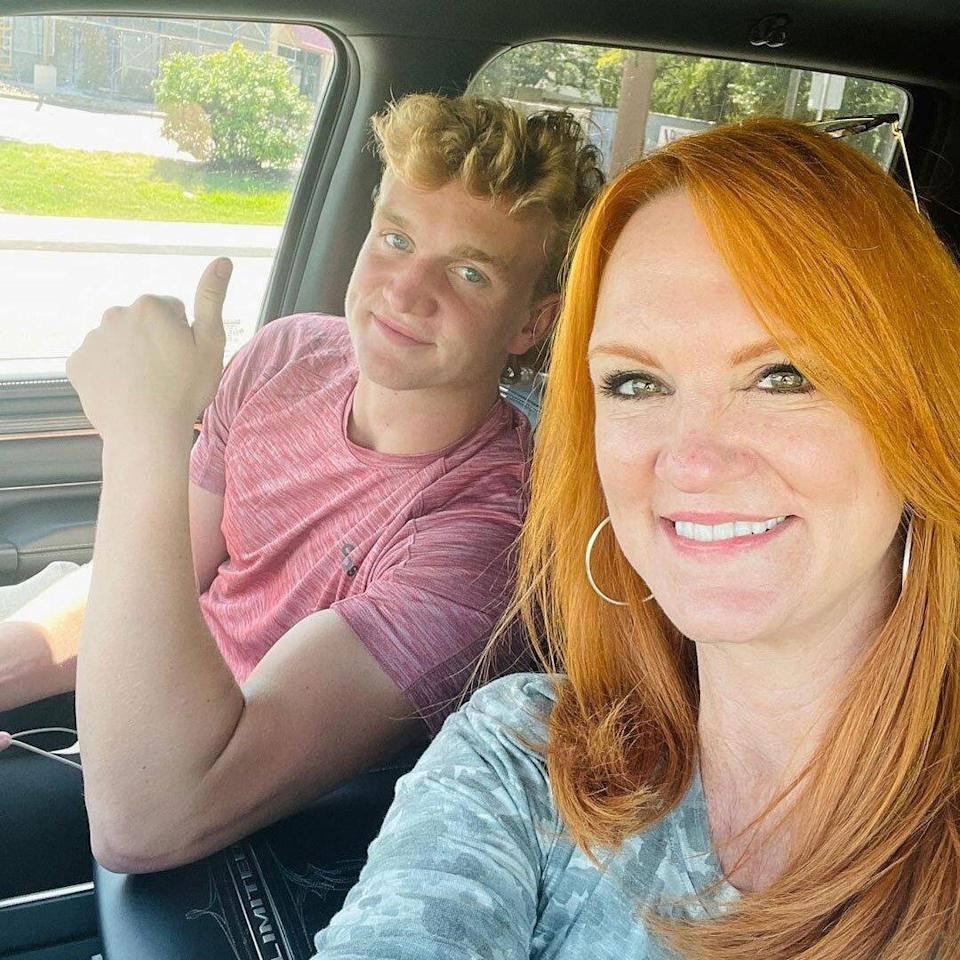 Ree Drummond Drops Son off at College