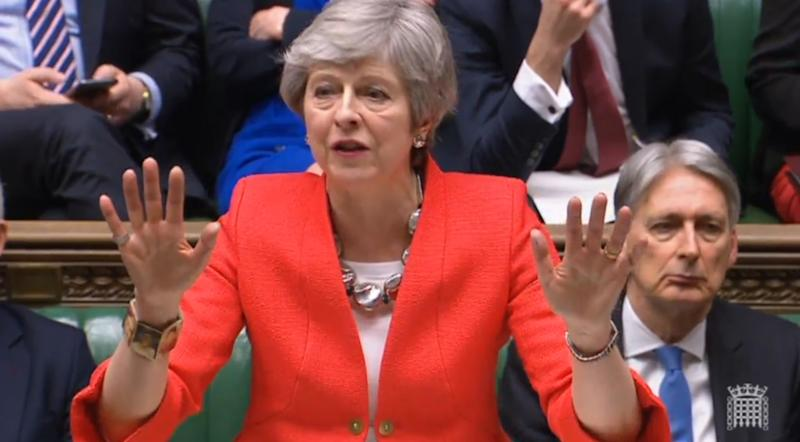 Brexit vote humiliates May