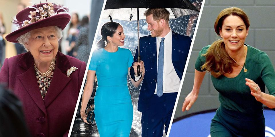 """<p>Between Prince Harry and Meghan Markle <a href=""""https://www.townandcountrymag.com/society/tradition/a31946699/prince-harry-meghan-markle-royal-life-coronavirus-transition/"""" rel=""""nofollow noopener"""" target=""""_blank"""" data-ylk=""""slk:stepping back from their senior roles"""" class=""""link rapid-noclick-resp"""">stepping back from their senior roles</a> and both Prince William and Prince Charles contracting (<a href=""""https://www.townandcountrymag.com/society/tradition/a31976624/prince-charles-out-of-isolation-coronavirus/"""" rel=""""nofollow noopener"""" target=""""_blank"""" data-ylk=""""slk:and recovering from"""" class=""""link rapid-noclick-resp"""">and recovering from</a>) COVID-19, 2020 has been unprecedented in so many ways for the British royal family. Here, the most notable photos from the royals' year.</p>"""
