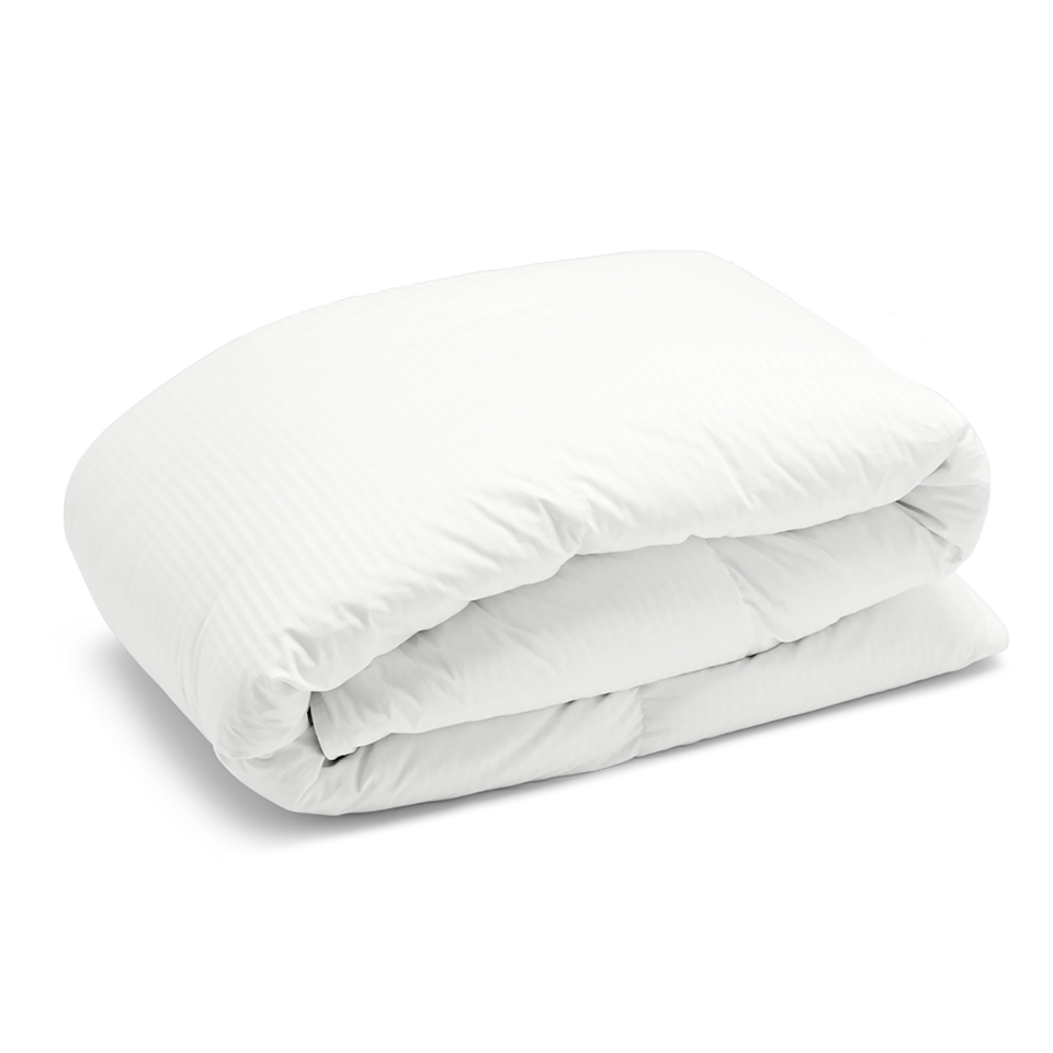 "Nudge hibernation out the door with Riley Home's lightweight goose-down comforter. With temperatures on the rise, she'll want to replace her heavy winter duvet for something more breathable at night. Riley Home is offering free shipping, free returns, a 100-day free trial, and $25 off purchases of $150 or more with email signup. $299, Riley Home. <a href=""https://www.rileyhome.com/goose-down-comforter"" rel=""nofollow noopener"" target=""_blank"" data-ylk=""slk:Get it now!"" class=""link rapid-noclick-resp"">Get it now!</a>"