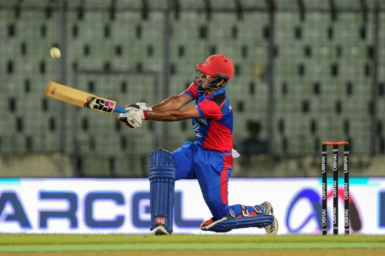 Najibullah Zadran's rapid half century gave Afghanistan a record 11 consecutive wins in Twenty20 internationals