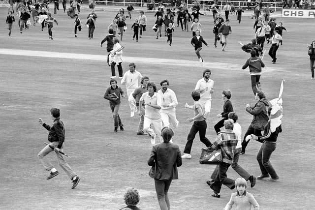 Willis' most famous moment in an England shirt came as he claimed eight for 43 to lead his side to a sensational victory over Australia in the third Test of the 1981 Ashes at Headingley (PA)