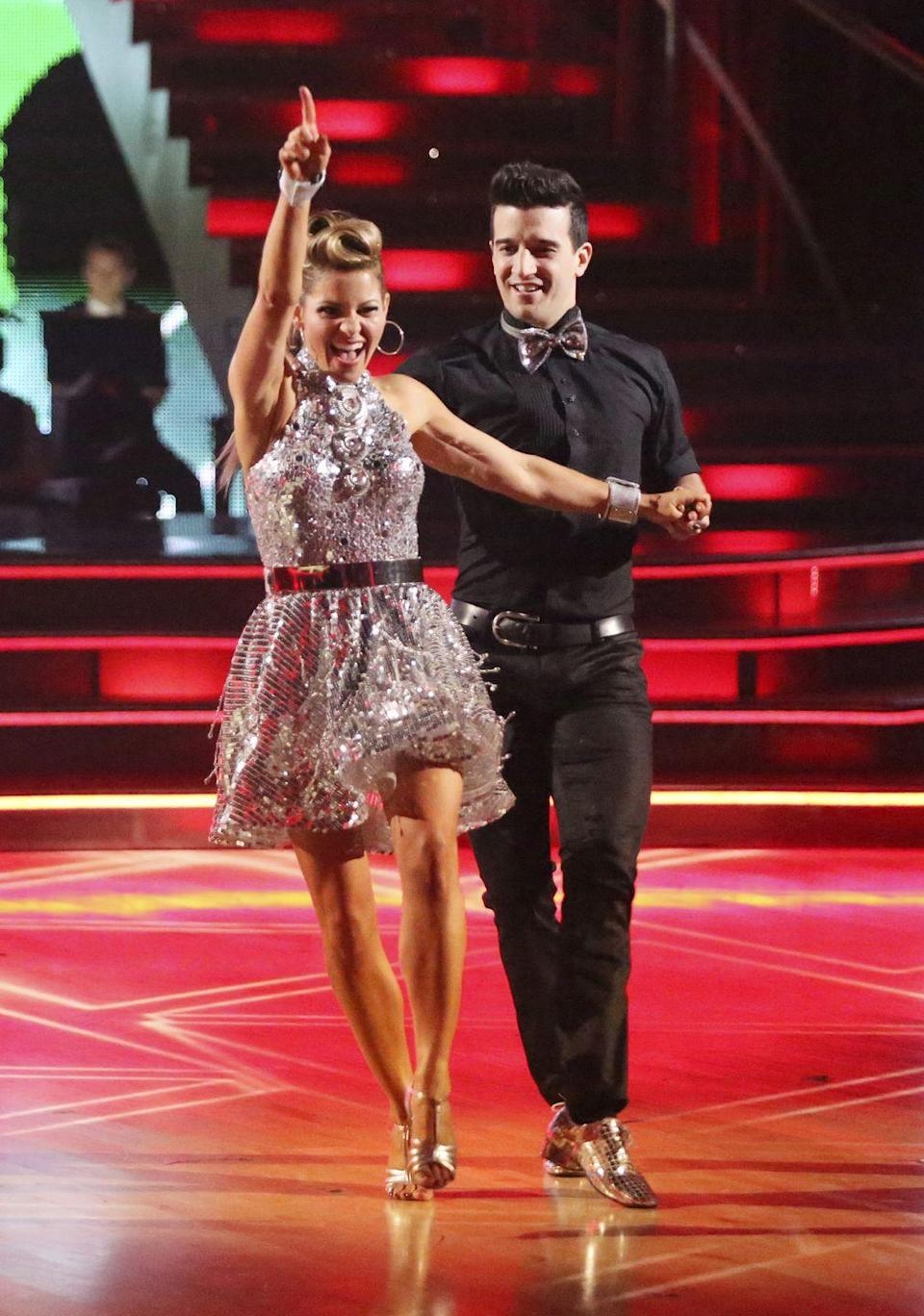 "<p>The <em>Full House</em> and <em>Fuller House</em> star had an ankle injury that almost derailed her journey to the finale on season 18. Cameron shared a photo of her ankle wrapped in ice on Instagram. She got X-rays and was able to continue dancing. Her pro partner, Mark Ballas also hurt his shoulder close to the end of competition, per <em><a href=""https://people.com/tv/mark-ballas-seriously-injured-in-dancing-with-the-stars-finale-rehearsal/"" rel=""nofollow noopener"" target=""_blank"" data-ylk=""slk:People"" class=""link rapid-noclick-resp"">People</a></em>. ""Mark was seriously injured during camera blocking. His shoulder popped out during a lift and he was taken by ambulance to the hospital where he was treated and released. It's unclear whether or not he'll be able to perform on Monday's show.""</p>"