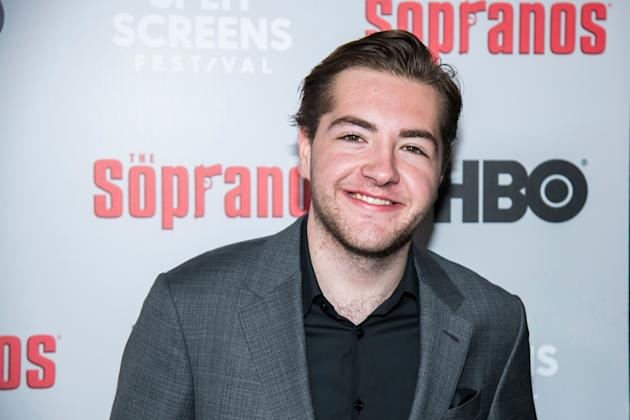 James Gandolfini's son is young Tony Soprano in prequel