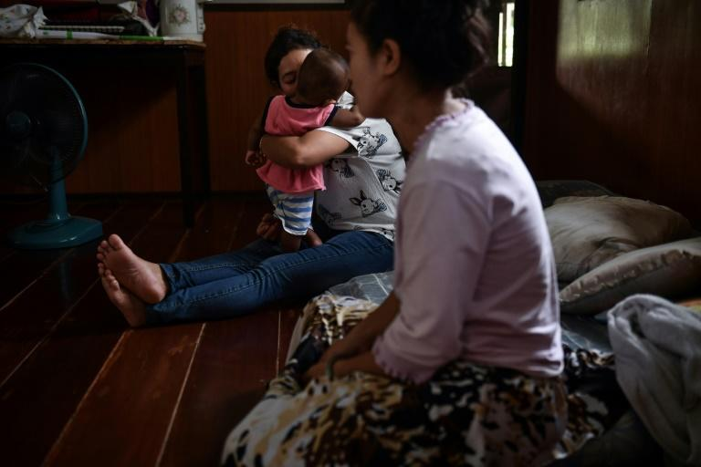 Many Vietnamese Christians fear religious persecution in communist Vietnam but are unable to legally settle in Thailand (AFP Photo/Lillian SUWANRUMPHA)