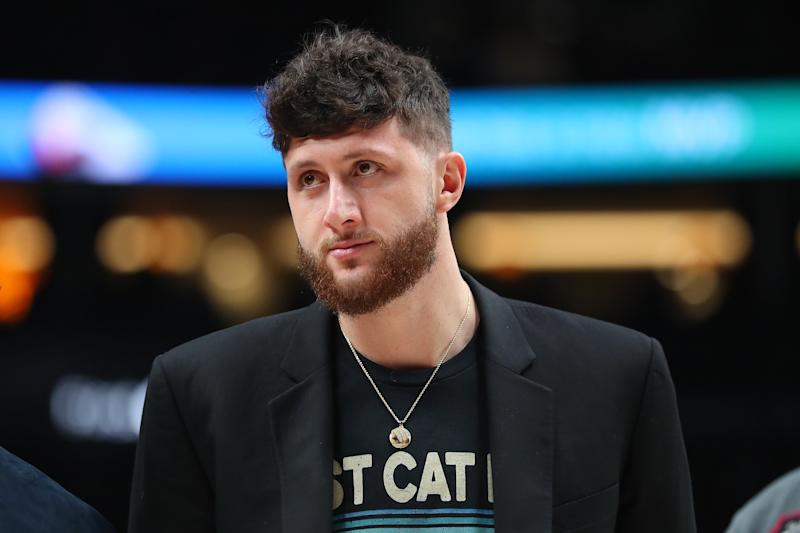 Jusuf Nurkic is set to make his season debut for the Blazers in Orlando. (Abbie Parr/Getty Images)